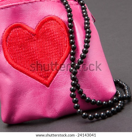 purse and beads