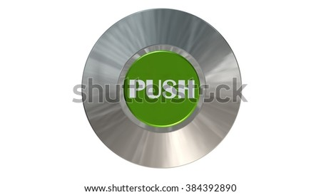 push button  - isolated
