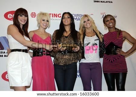 Pussycat Dolls 1 - stock photo