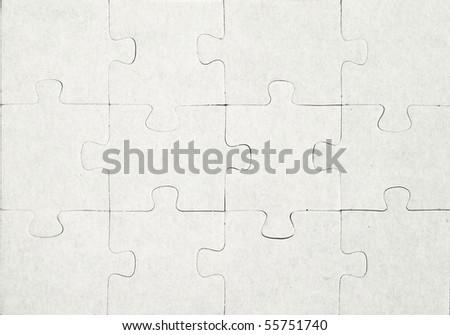 puzzle - stock photo