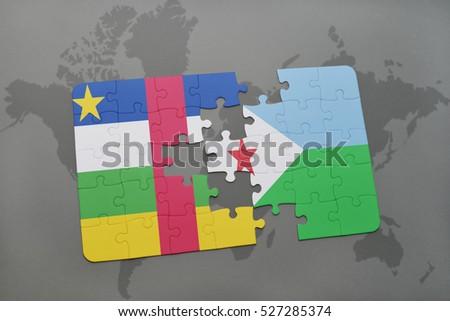 Republic Of Djibouti Stock Images RoyaltyFree Images Vectors - Republic of djibouti map