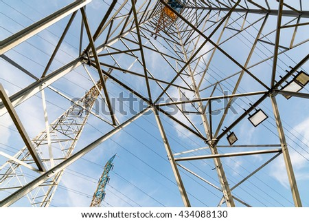 Pylon - China standard overhead power line transmission tower