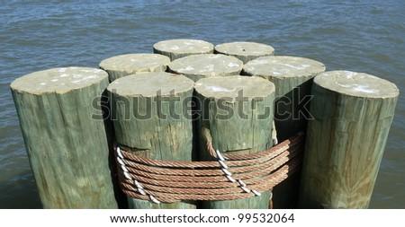pylons - stock photo