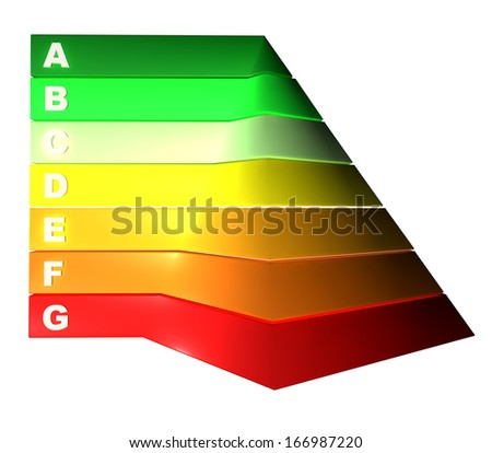 Pyramid energy consumption efficiency