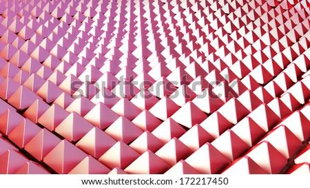 Pyramidatron - stock photo