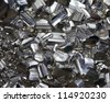 Pyrite mineral - stock photo