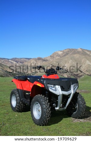 Quad ATV - stock photo