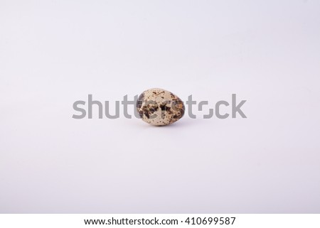 quail egg, quail egg on a white background