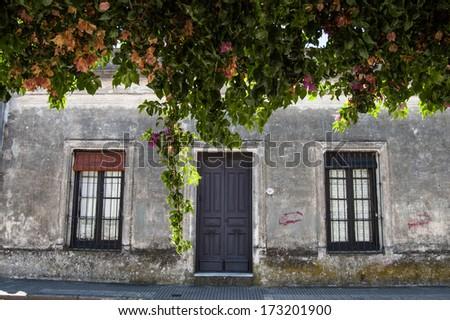 Quaint latin american house - stock photo