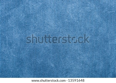 Qualitative blue fabric texture. Abstract background. Close up. - stock photo