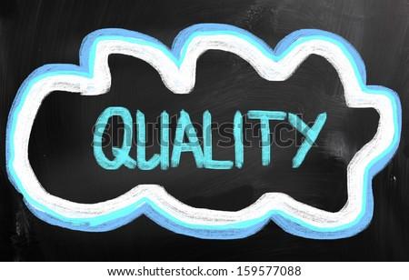 Quality Concept - stock photo