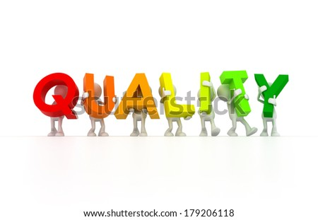 Quality control team - stock photo