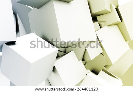 Quantum Technology as a Abstract Concept Art - stock photo