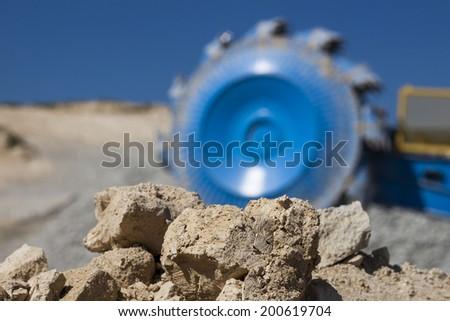 Quarry concept - stock photo