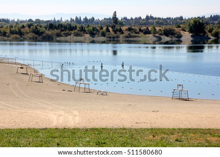Fishing facility stock photos royalty free images for Quarry lakes fishing