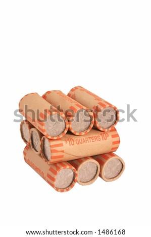 quarters - stock photo
