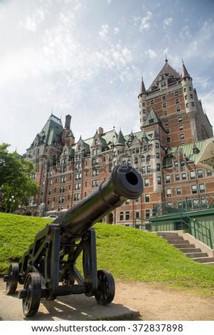 Quebec - stock photo