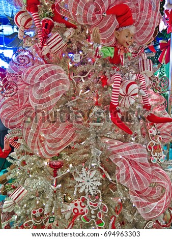 quebec city canada july 4 2016 interior of christmas store la - Noel Christmas Store