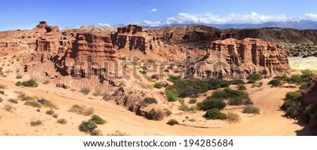 Quebrada de Cafayate, Salta, Argentina - stock photo