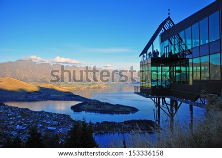 Queenstown New Zealand - stock photo