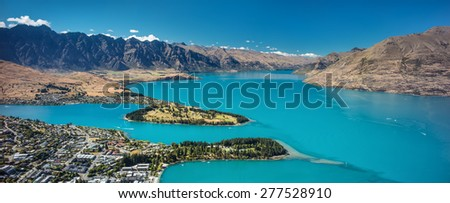 Queenstown, Otago, New Zealand - stock photo