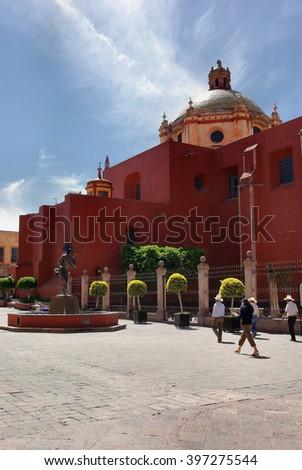 Queretaro, Mexico - stock photo