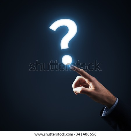 Question, FAQ and another customer services concept.