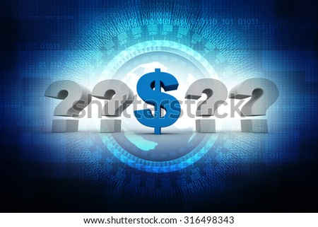 Question Mark Dollar Currency Symbol Stock Illustration 316498343