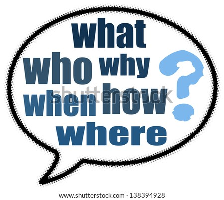 Question mark sign in speech bubble - stock photo