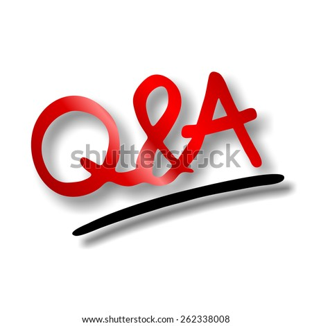 Questions and Answers Session - stock photoQuestions And Answers Session