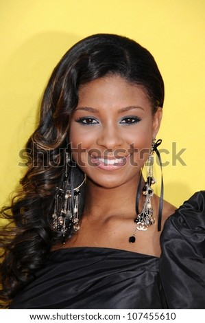 Qui Rice  at the 2008 MTV Video Music Awards. Paramount Pictures Studios, Los Angeles, CA. 09-07-08