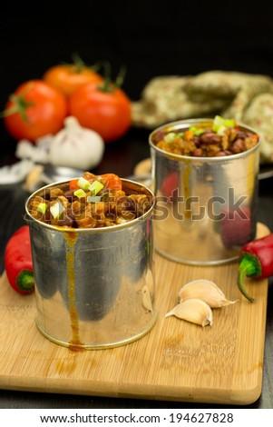 Quick chili con carne - stock photo