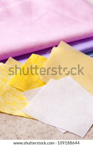 Quilting 2 - stock photo