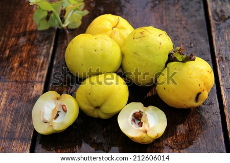 Quinces - stock photo