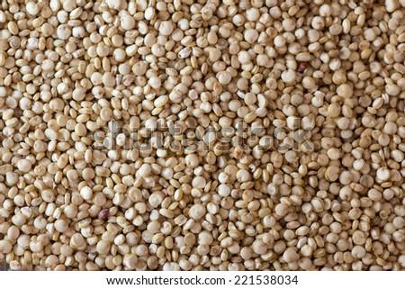quinoa background - stock photo