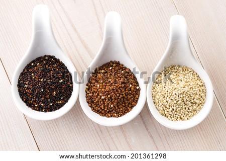 Quinoa grain - stock photo