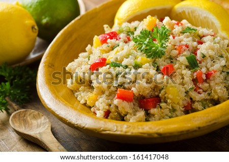 Quinoa Salad - stock photo