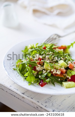 Quinoa salad - stock photo