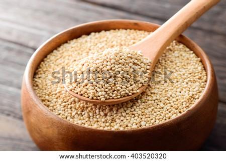 quinoa seeds - stock photo