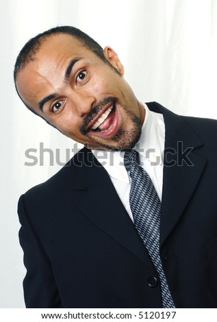 Quirky Businessman - stock photo