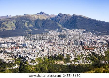 Quito Capital Ecuador Stock Photo Shutterstock - Capital of ecuador