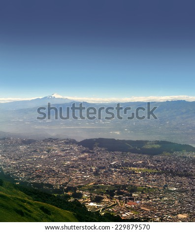 Quito, Ecuador - stock photo