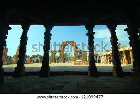 Qutub Minar Tower, Delhi, India