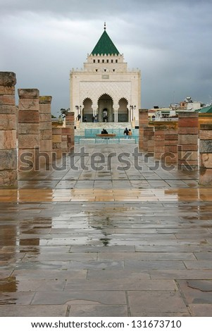 Rabat palace - stock photo