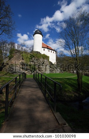Rabenstein castle in Chemnitz / Germany