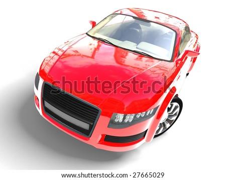 Race Car - stock photo
