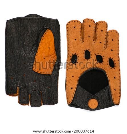race gloves - stock photo