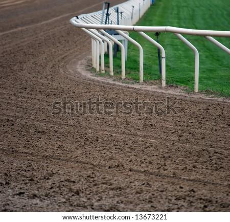 Racetrack - stock photo
