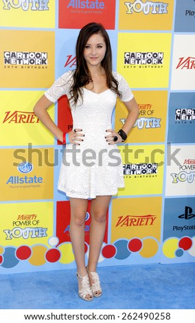 Rachel Fox at the Variety's 6th Annual Power Of Youth held at the Paramount Studios in Hollywood on September 15, 2012.  - stock photo