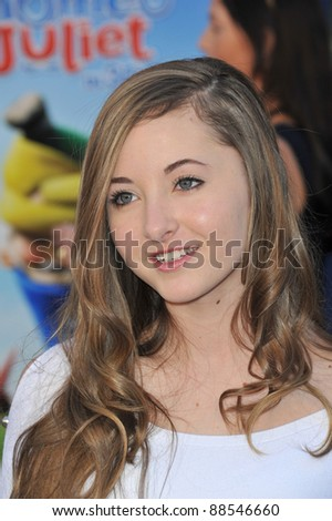 "Rachel Fox at the world premiere of ""Gnomeo & Juliet"" at the El Capitan Theatre, Hollywood. January 23, 2011  Los Angeles, CA Picture: Paul Smith / Featureflash"